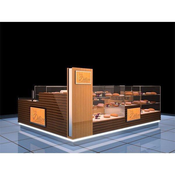10 Best wooden Bread kiosk design for mall