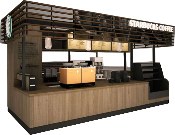 Coffee Kiosk | Mall Coffee Bar Ideas, Designs & Stand Carts