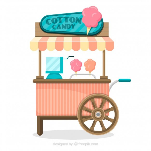 Candy Cart Wooden Cotton Candy Carts Design Stands For Sale