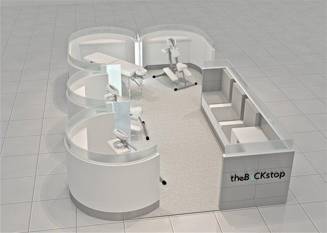 mall massage kiosk
