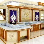 Three basic concepts of  jewelry kiosk design