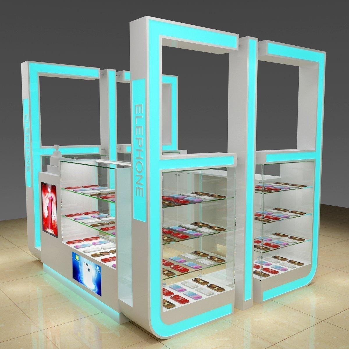 mobile phone accessories kiosk