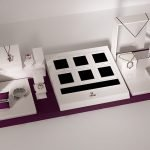 Best display showcase for Jewelry store design ideas