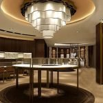 luxury  Royal Jewelry Store showroom Design