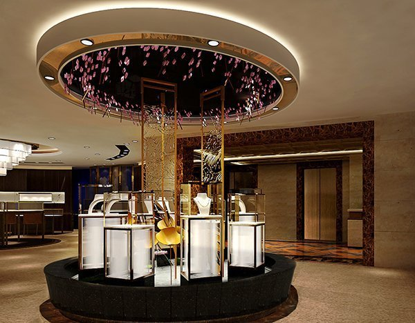 Design of Royal Jewelry Store