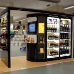 How to open a wine kiosk in mall ?