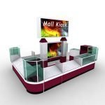 What the price for a mall kiosk ?
