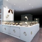 How to display jade in jewelry kiosk ?