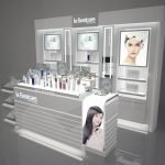 Three Mainstream Design Styles of Cosmetic Showcase
