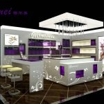 How to design & build light box in cosmetics kiosk ?
