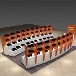 3 Tips on shoe kiosk design in mall.