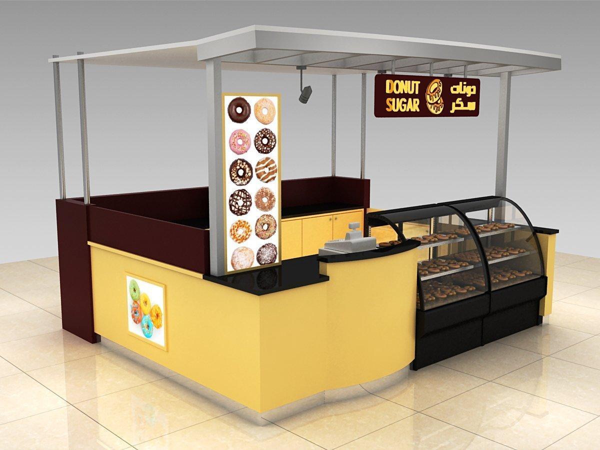 donuts kiosk desing