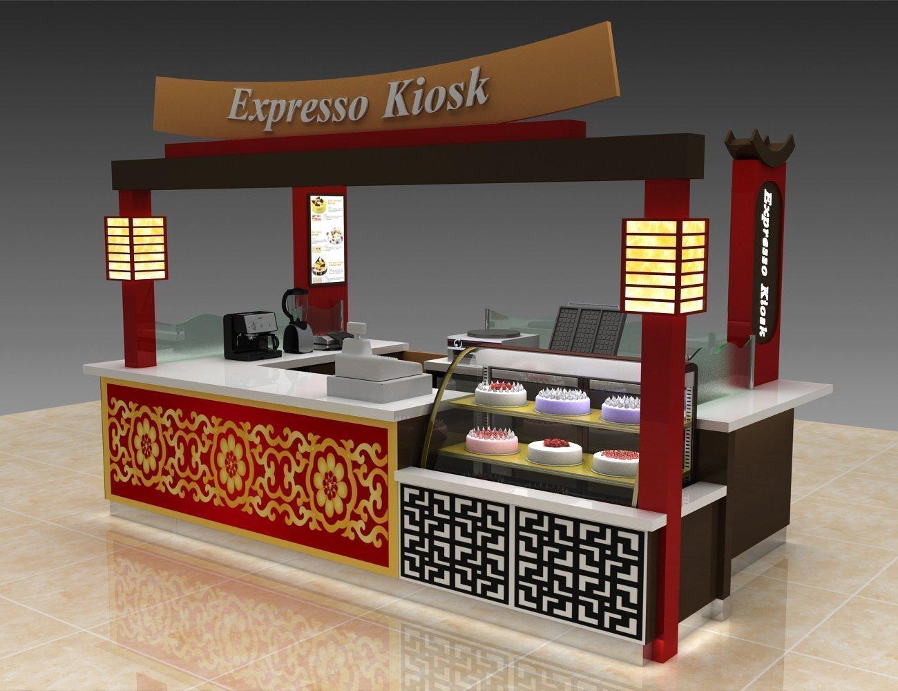 Mall food kiosk design for sale | Japanese traditional food