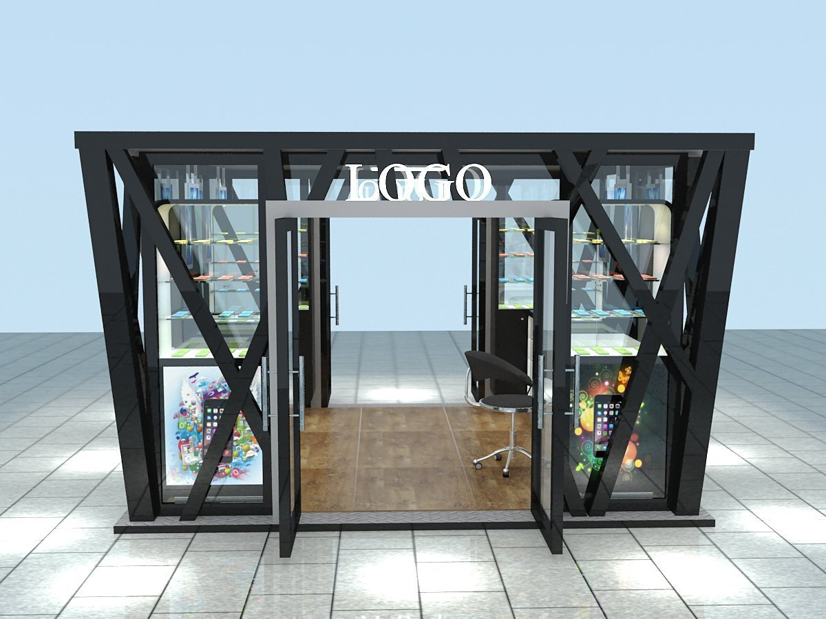 outdoor kiosk for retail