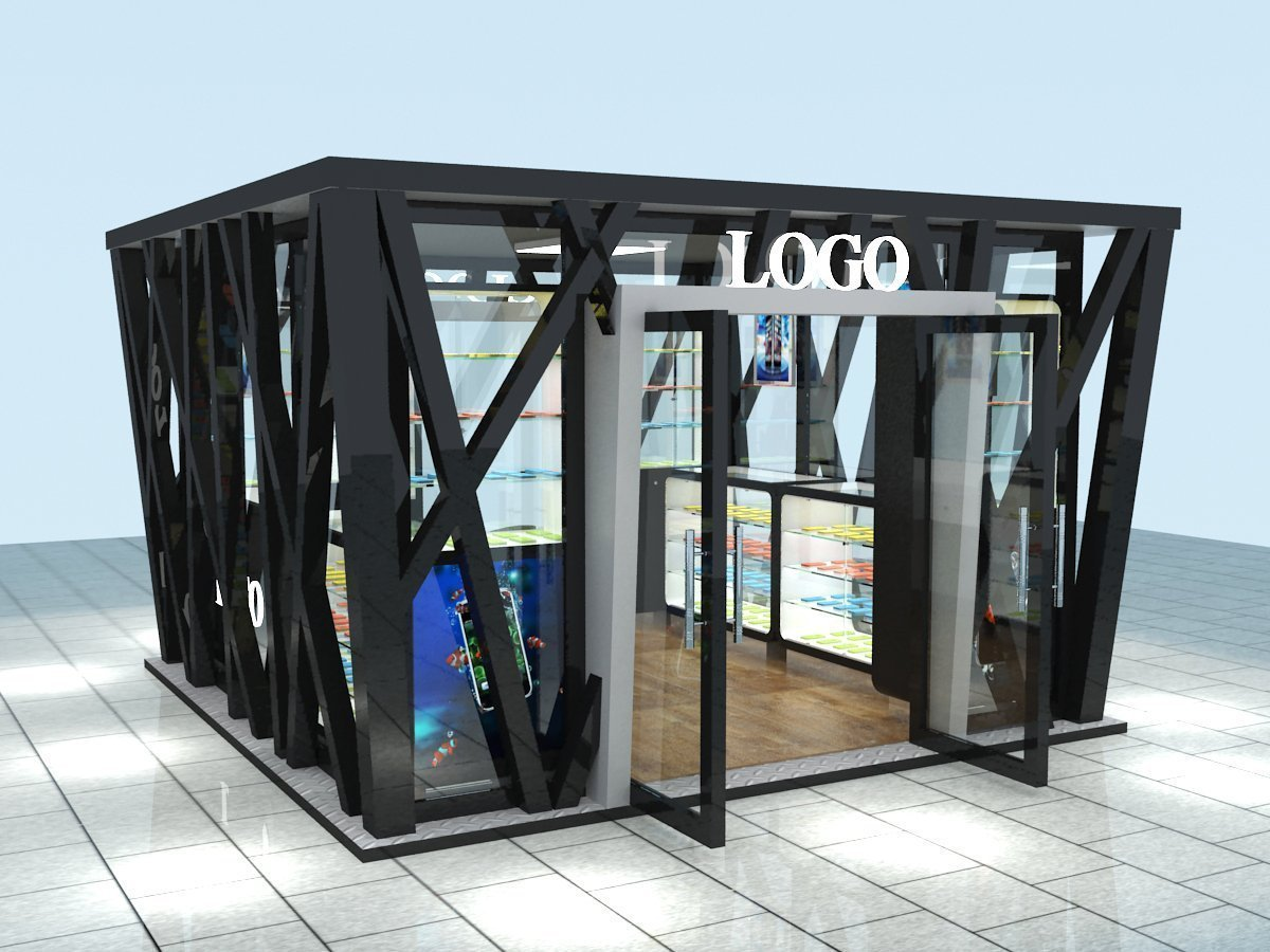 Outdoor Street Kiosk Design For Cell Phone Amp Clothes Retail