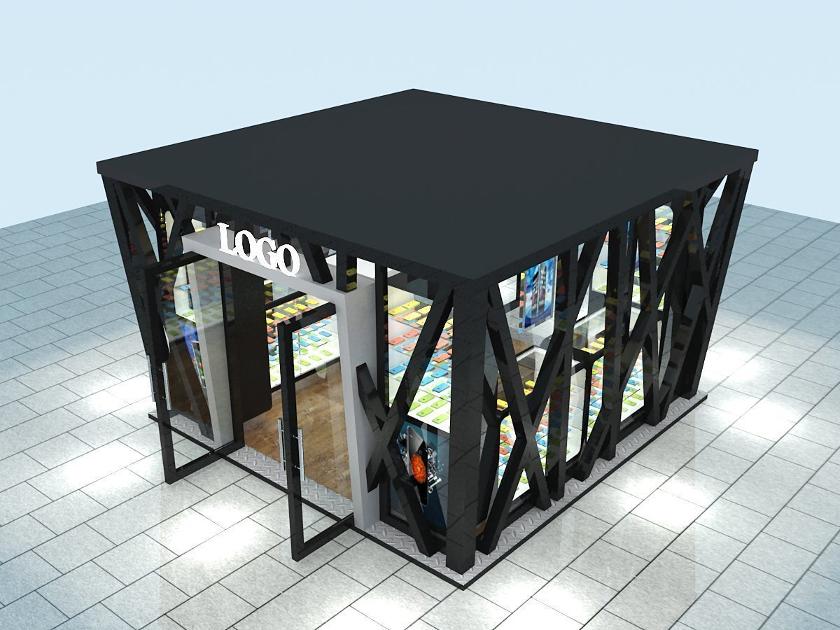 Outdoor Retail Kiosk Design - 0425
