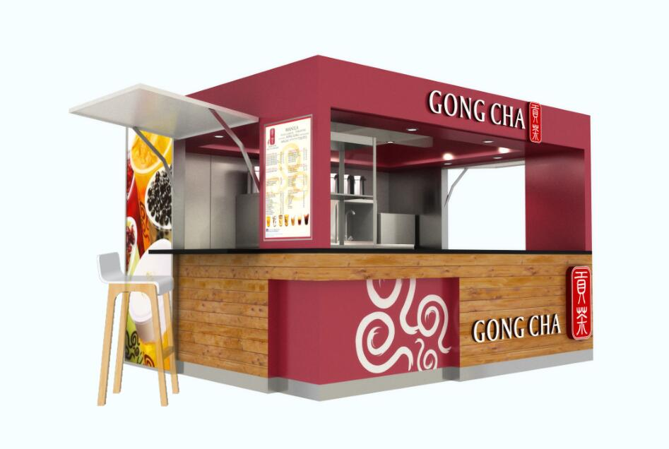 Design Of Kiosk For Fast Food