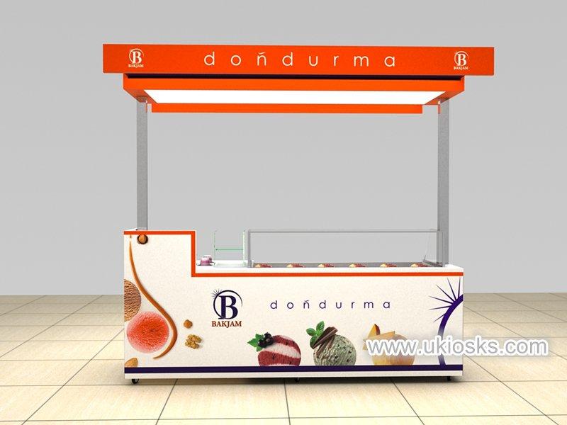 ice cream juice cart