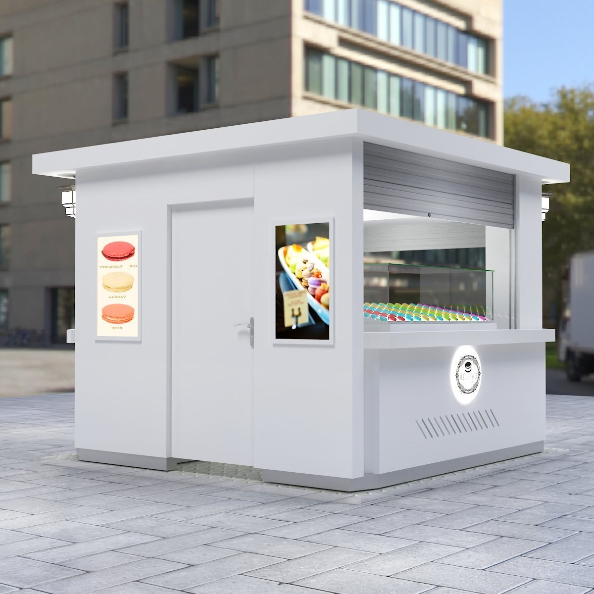 macaron kiosk