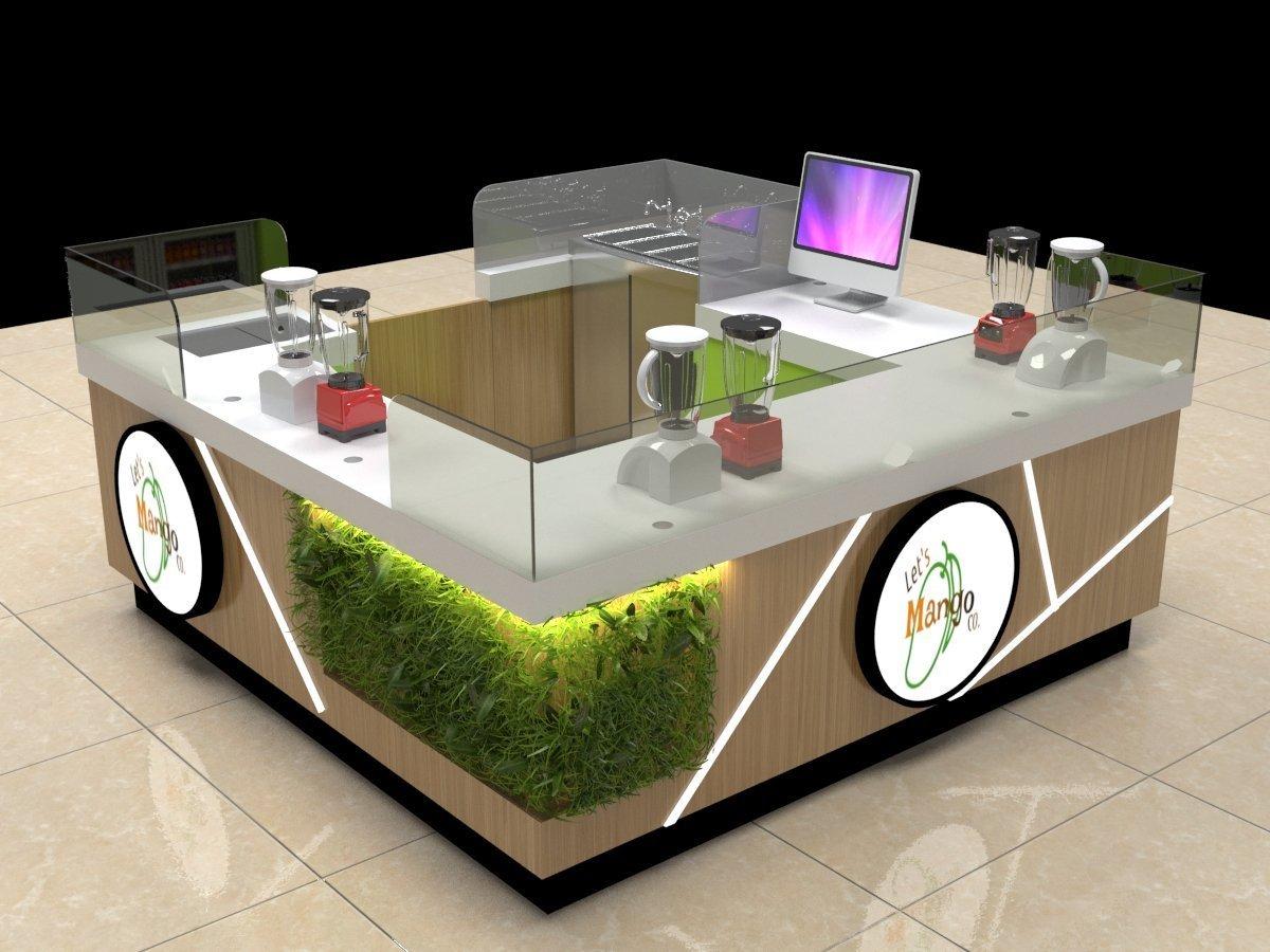 Mango design Mall Kiosks | Food kiosk concept, ideas, trends