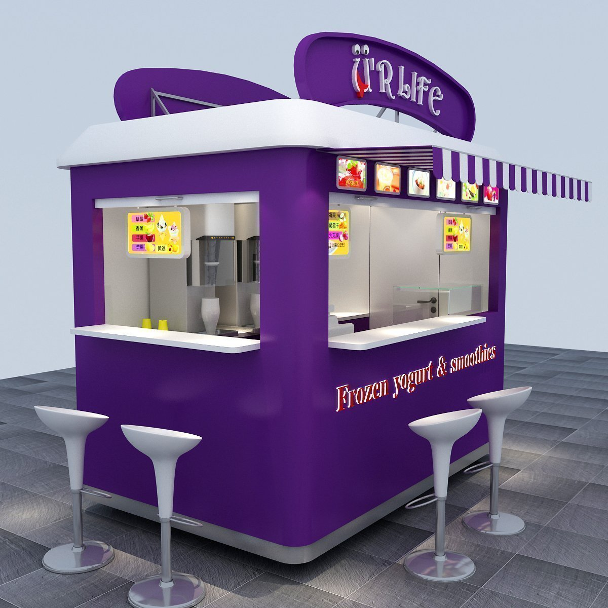 Outdoor Kiosks | Portable Food Kiosk, Retail Stands & Booth For Sale