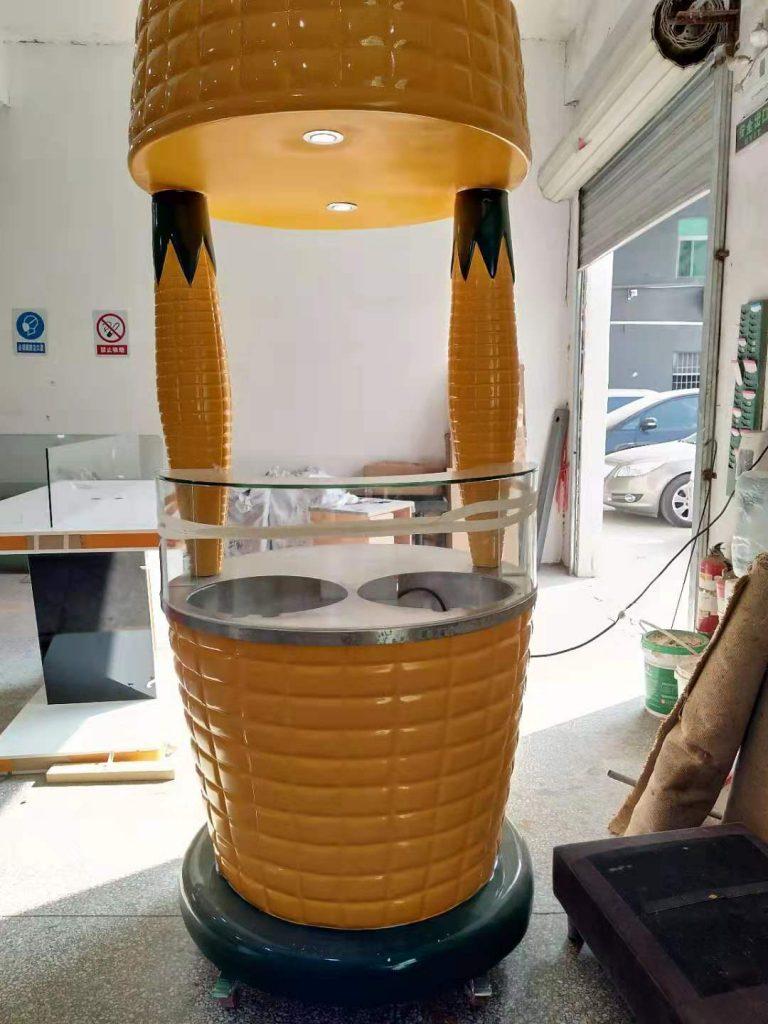 fiberglass sweet corn kiosk