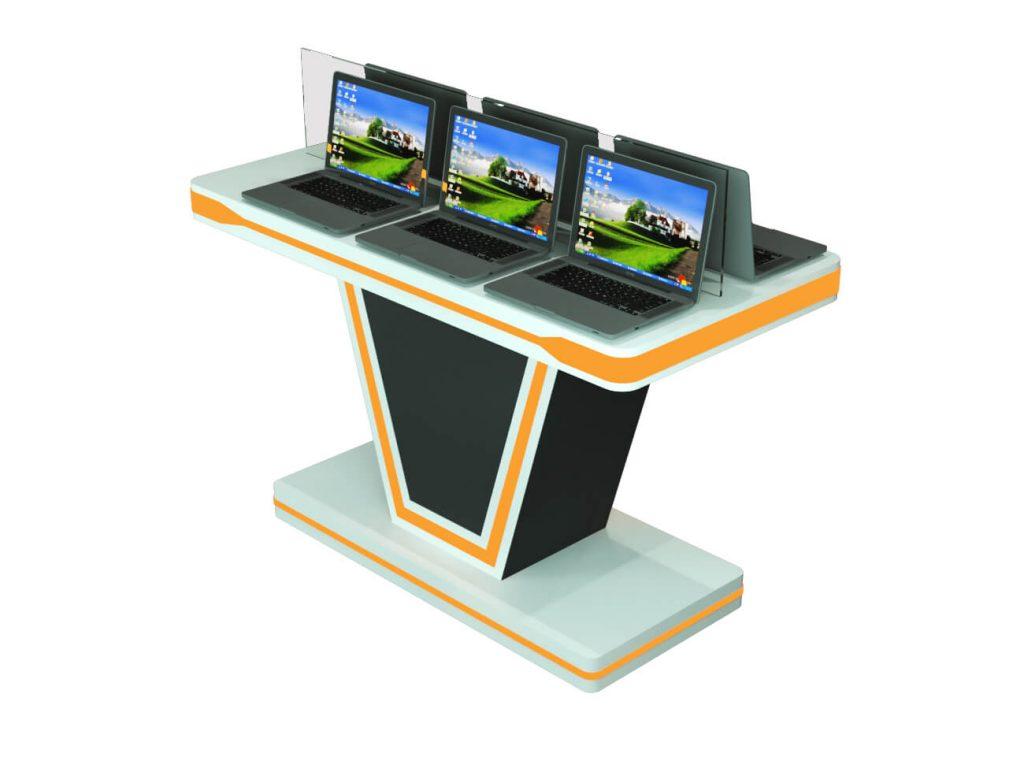 laptop display counter