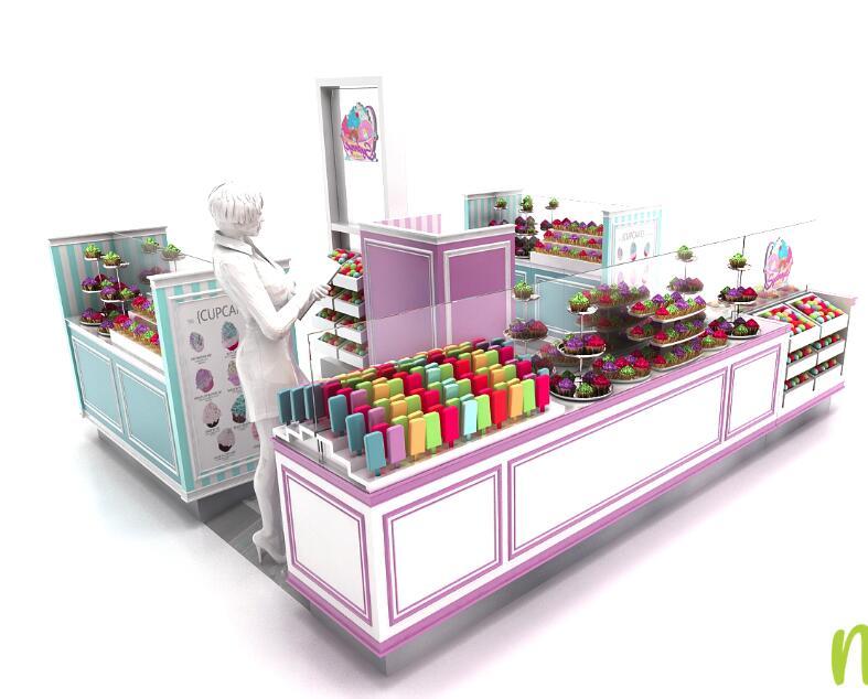 cupcake kiosk concept