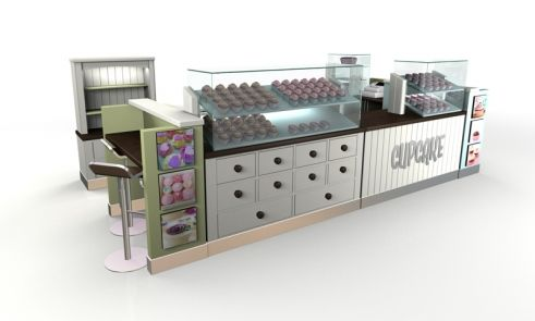 cupcake kiosk design ideas
