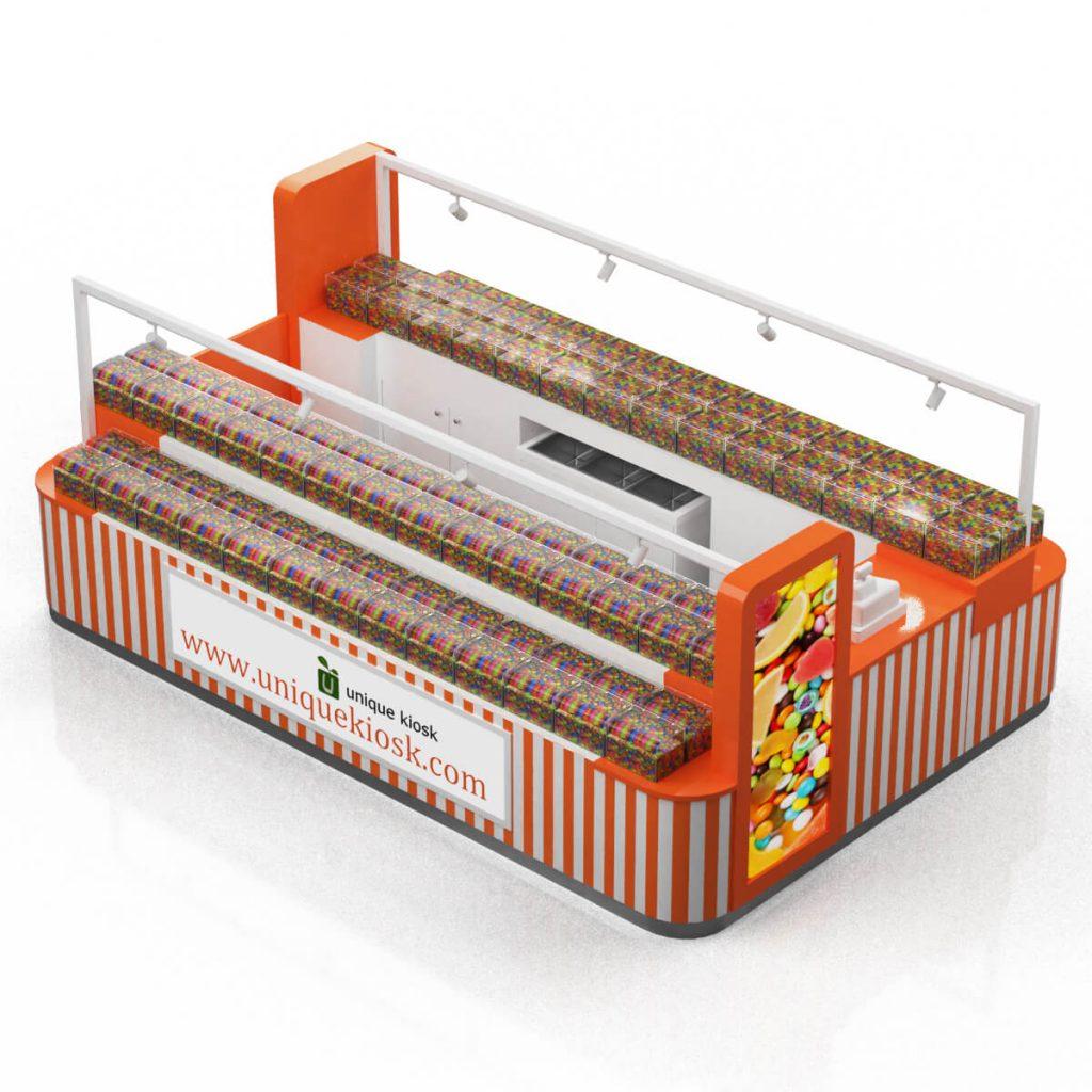 sweet food kiosk