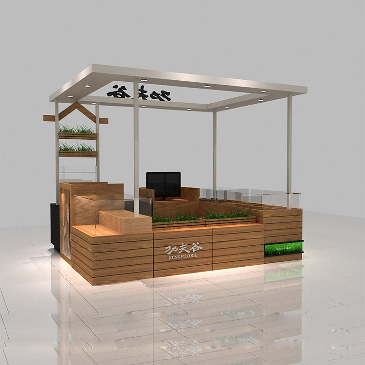 fruit kiosk design in mall