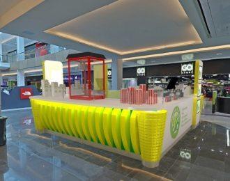 Popular french mall retail sweet corn kiosk design for sale