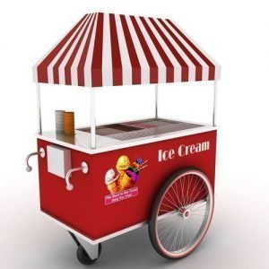 ice cream cart design