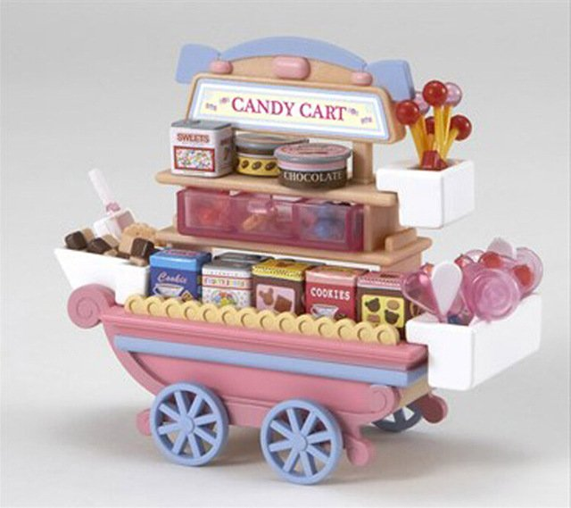 families-mini-candy-cart-miniature-dollhouse-furniture