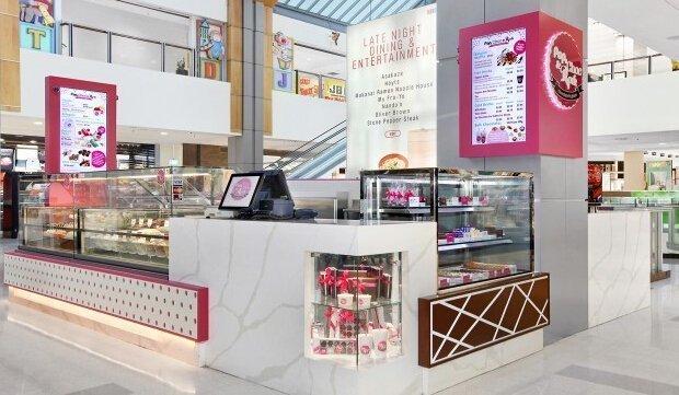 Modern & Attractive Cupcake kiosk design concept ideas for mall