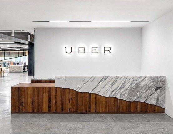 office stone reception counter