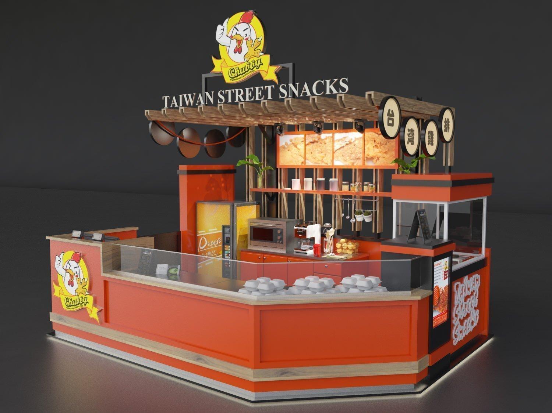 Street snacks kiosk