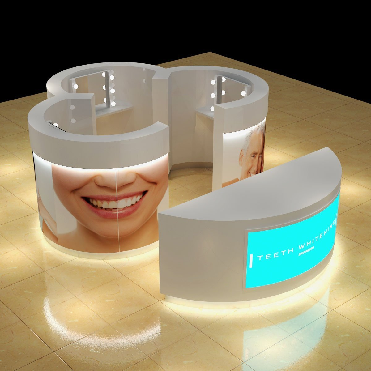 Teeth whitening kiosk to Australia