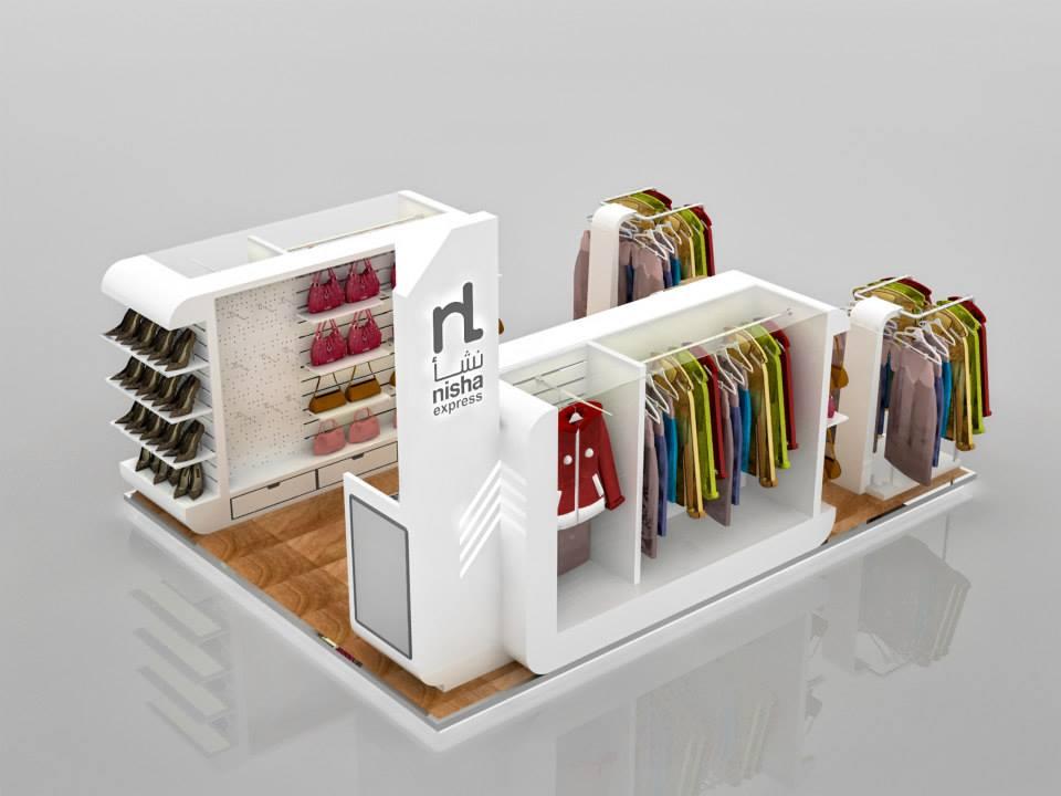 clothes kiosk