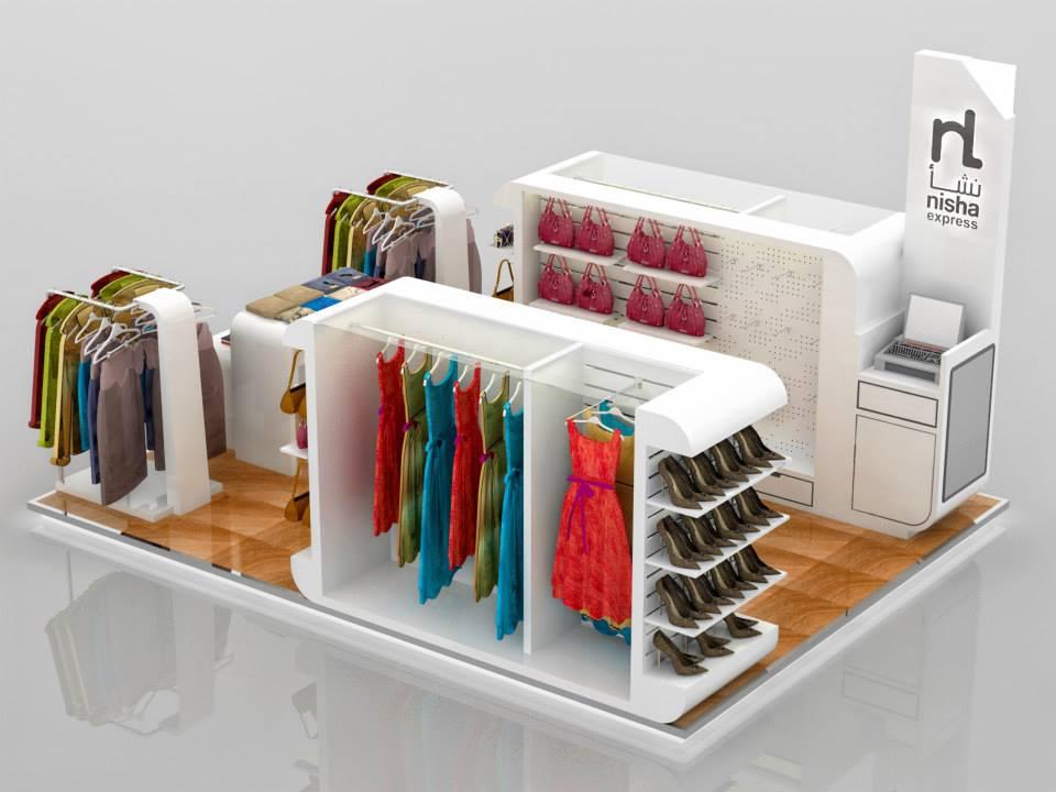 handbag kiosk