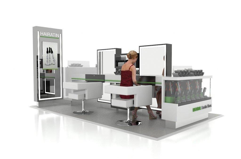 hair build kiosk