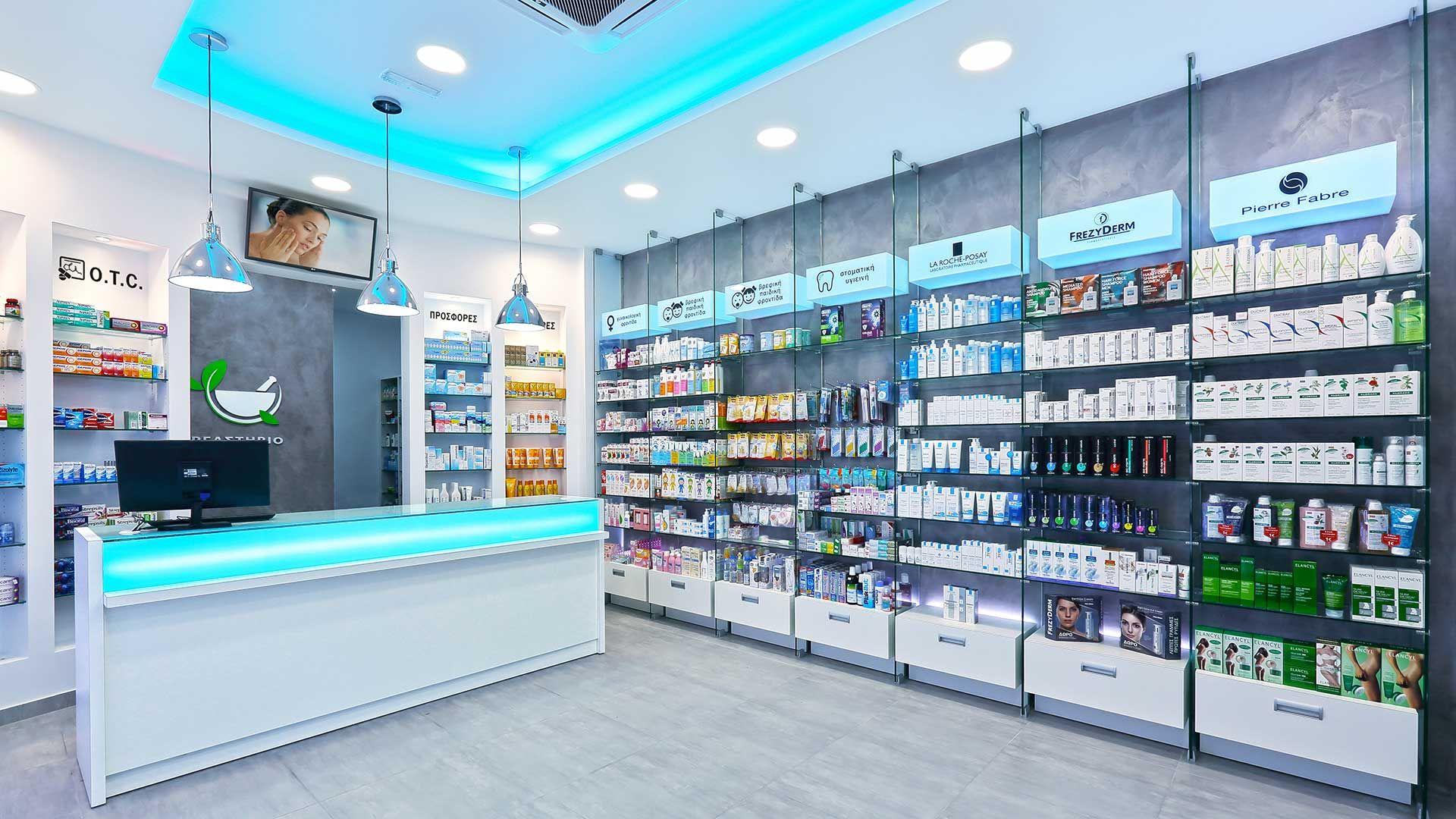 medical store design