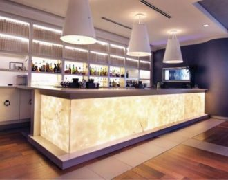 Modern attractive retail bar shop counter design
