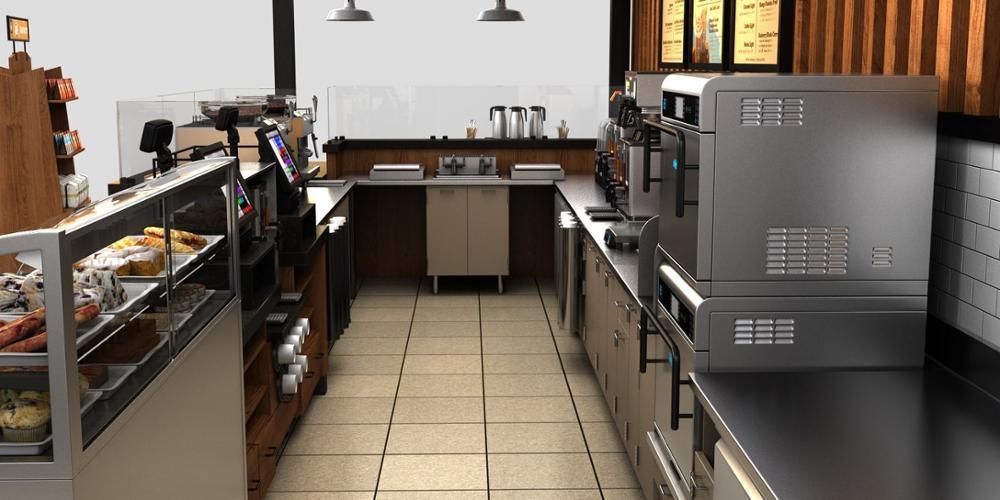 coffee bar kiosk