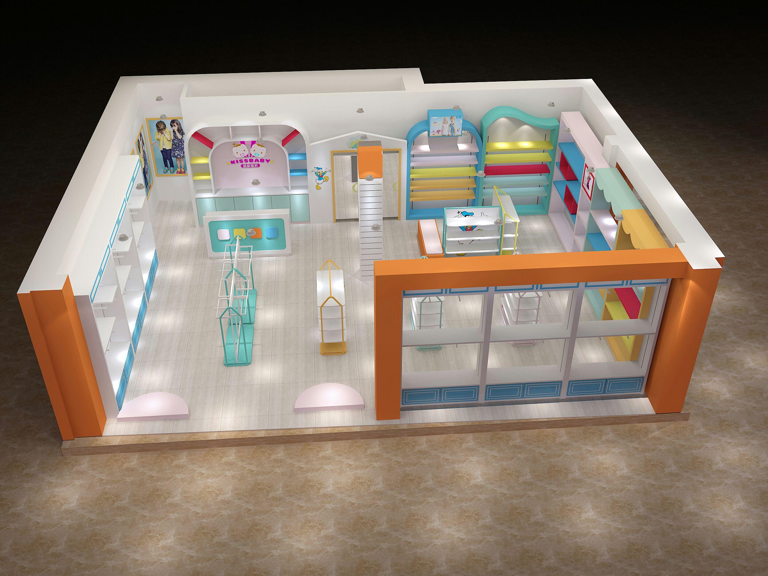 small clothes shop interior design ideas
