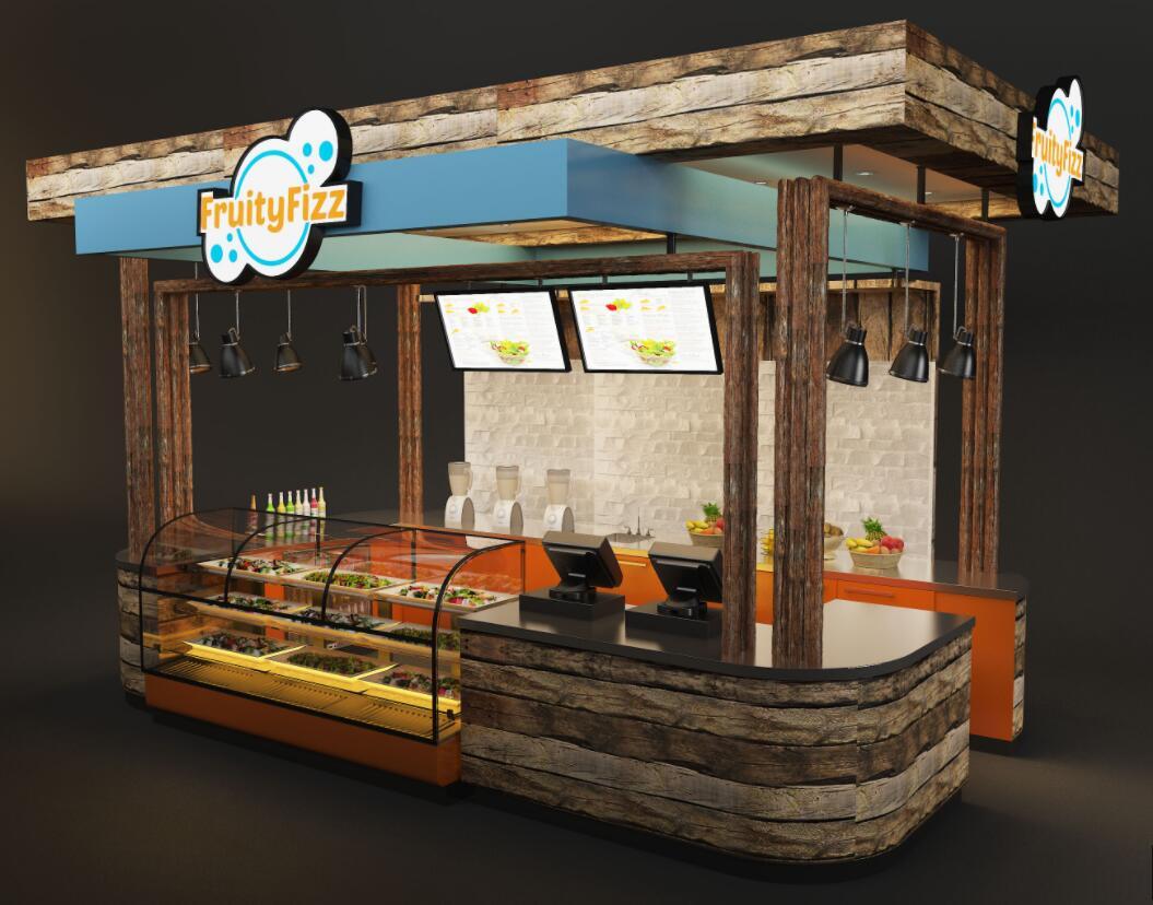 Fruity Fizz food kiosk design
