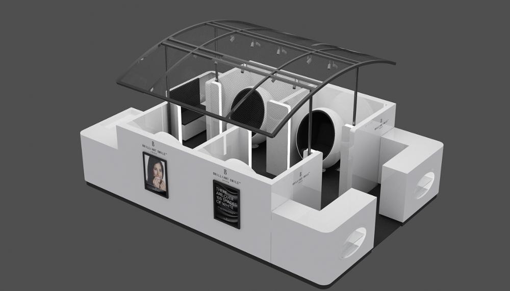 tooth white kiosk