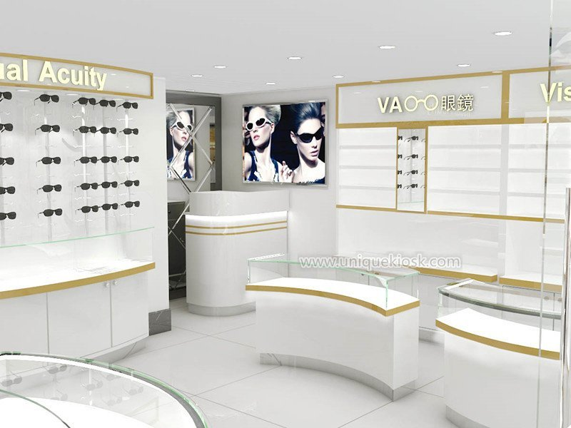 Modern Optical Shop Furniture With Sunglass Display Fixtures For Sale