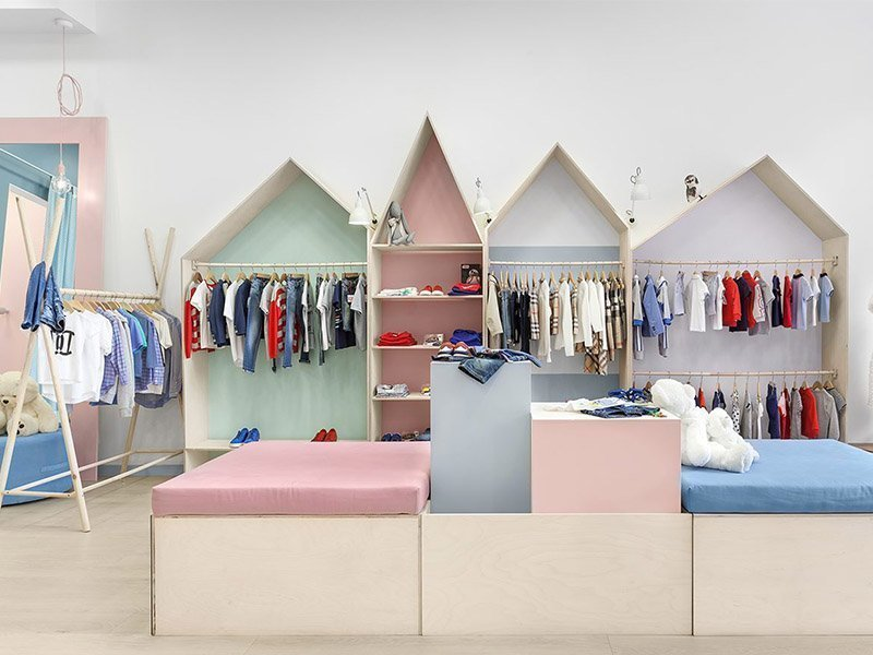 clothing shop design