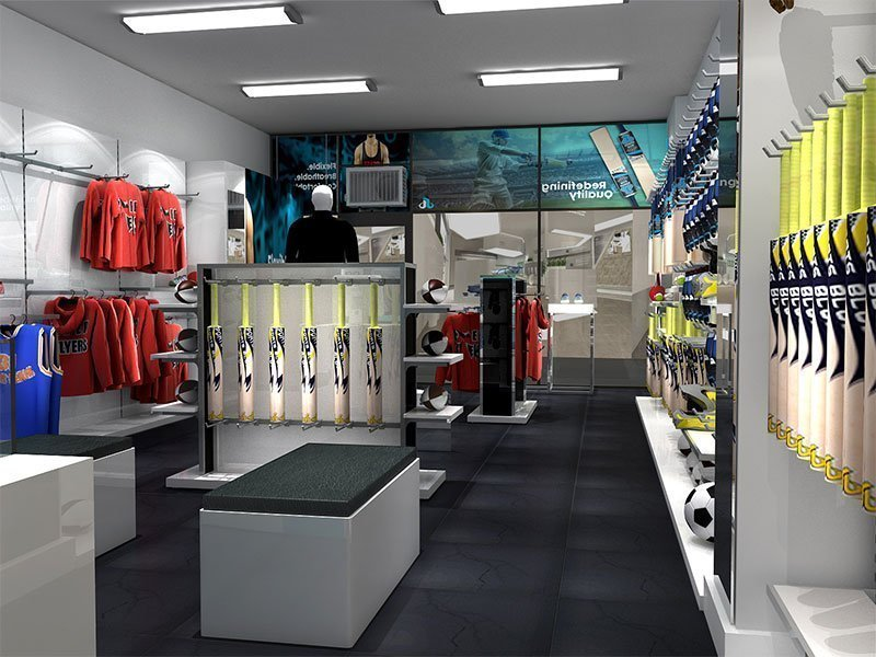 sports clothing store